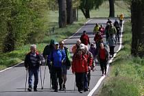 Vzpomínkového pochodu Lidických žen se na Tachovsku v sobotu účastnilo na padesát zájemců o turistiku a historii konce druhé světové války.