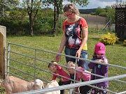 Škola otevřela brány veřejnosti, ta se kromě techniky mohla podívat i na telátka, králíky nebo kůzlátka