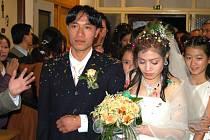 Vietnamská svatba.