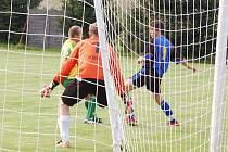 Fotbalové utkkání Tachov - Damnov 2:2