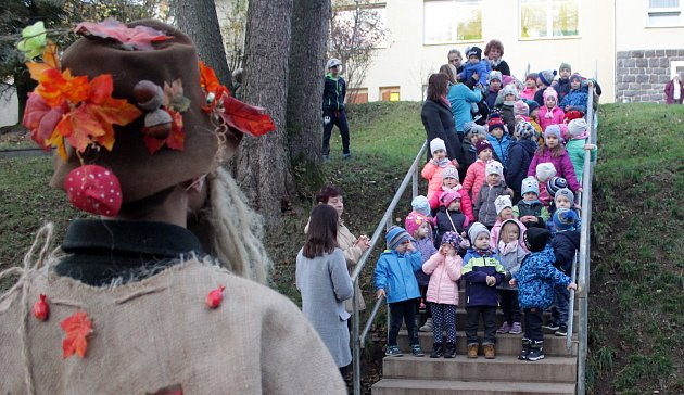 Tradiční akci spjatou s nynějším ročním obdobím si užili předškoláci i mladší děti mateřinky Prokopa Velikého v Tachově.