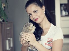 ŠÁRKA UXOVÁ si pořídila psouna. On si její lásku vyprosil v obchodě se zvířaty. Dnes je jejím miláčkem.