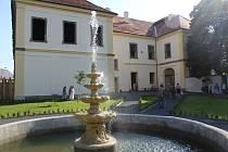 Z prohlídky rekonstruovaného zámku