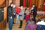 Dobrovolní dárci krve se sešli ve stříbrském kině Slavia.