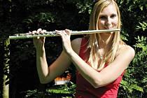 V Dechovém orchestru mladých hraje i Sandra Volková