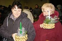 Mateřská škola ve Stříbře pořádala tradiční vánoční trhy.