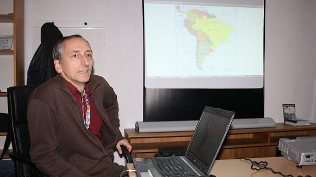 O vystěhovalcích z Tachovska do Brazílie přednášel v muzeu Petr Polakovič
