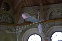 Ultralehké modely budou v jízdárně létat začátkem června.