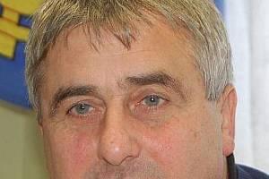 Předseda fotbalového klubu TJ Sokolo Lom u Tachova Aurel Ardeleanu.