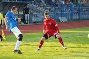 Z utkání FK Tachov - Slavia Vejprnice.