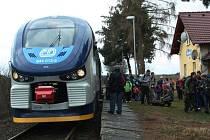 Z propagační jízdy vlaku RegioShark.