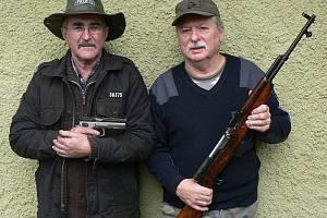Na snímku jsou Pavel Fuksa a Josef Kočí.