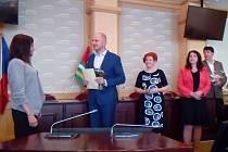 Ocenění sociálních pracovníků a učitelů Josefem Bernardem