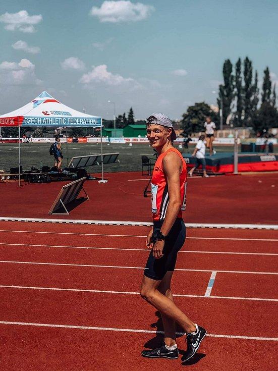 Jakub Davidík drží devět českých rekordů.