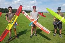 Kladrubští modeláři se učili létat ve Staňkově.