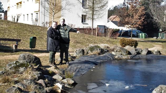 Dvanáctiletý Ondřej Bouda zachránil topící se dítě z rybníčku v centru Konstantinových Lázní.
