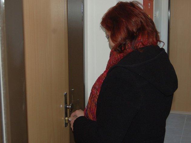 Jedním z nových obyvatelů nadstavbových bytů v Boru se stala také Gabriela Kantová (na snímku).
