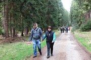 V okolí Černošína se uskutečnil tradiční turistický pochod Bílou vlčí stopou.