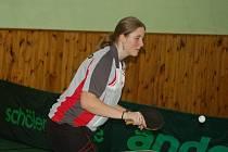 Druhá liga žen ve stolním tenisu měla na programu deváté a desáté kolo.