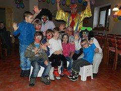 Dětská párty se konala ve Starém Sedle.