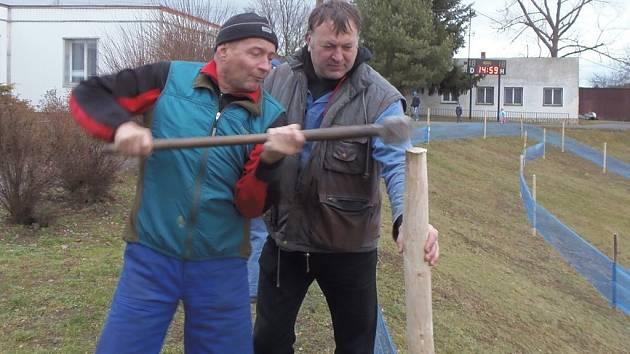 Štybarův fanklub připravil trať pro šampionát