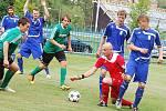 Fotbal: Vedoucí tým divize nedal FC Rokycany šanci a zvítězil přesvědčivě 8:0