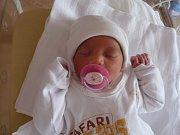 Natálka (3,02 kg, 49 cm) se narodila 24. května v 10:28 ve FN v Plzni. Z jejího příchodu na svět se radují maminka Martina Laznová a tatínek Vincenc Mišálko z Boru u Tachova. Doma na sestřičku čeká pětiletý Sebastián.