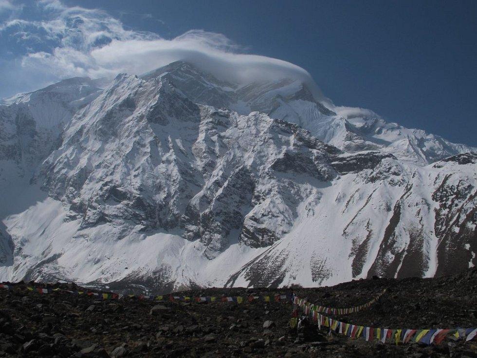 Jan Trávníček na Annapurně.