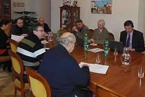 JEDNÁNÍ PREZIDIA Euroregionu Egrensis se konalo na stříbrské radnici.