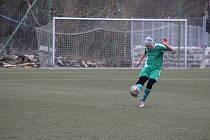 FK Tachov v sobotu od 14 hodin hostí na hřišti s umělým povrchem svého stadionu Start Tlumačov.