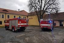 Hasiče ze Stříbra zaměstnal planý požární poplach v muzeu.