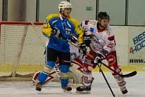 Tachovští hokejisté se utkají s Apollem Kaznějov.