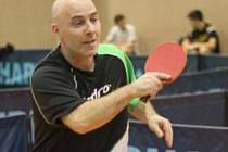 V současné době působí stolní tenisté Sokola Bor ve druhé lize. S oporou Romanem Belopotočanem (na snímku) stále v týmu hrají i Pavel Pour a Roman Dráždil.