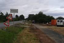 Cyklostezka ze Stříbra do Těchlovic je před dokončením.
