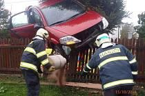 Dopravní nehoda ve Víchově