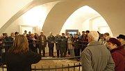 Z otevření zámeckých expozic v Tachově.