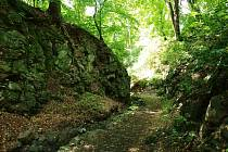Bertino údolí.