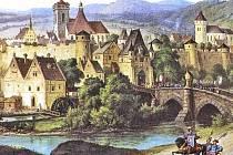 Po husitských válkách trvalo dlouho, než se Ústí vzpamatovalo. Než získalo přibližnou podobu, kterou vidíme na obrázku, muselo uplynout minimálně sto let.