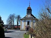 Kostel svaté Anny v Tisé.