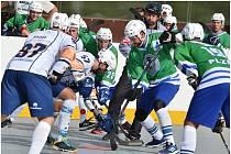 Elba DDM Ústí nad Labem - Plzeň (6:5 sn), hokejbal, Crossdock extraliga 2019/2020.
