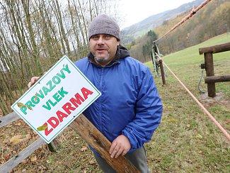 V malém lyžařském areálu u Malečova na Ústecku se chystají na novou zimní sezonu.