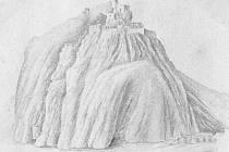 Talentovaný kněz Joachim Preyss kreslil také Střekov
