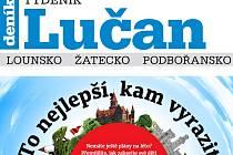 Nejnovější vydání Týdeníku Lučan
