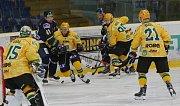 Hokejový zápas mezi Ústím a Vsetínem, 5. kolo Chance ligy 2018/2019
