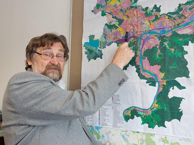 Vladimír Charvát, architekt města Ústí