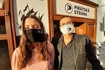 Volební štáb Pirátů v Ústí nad Labem
