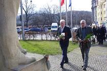 Ústečané uctili památku prvního československého prezidenta.
