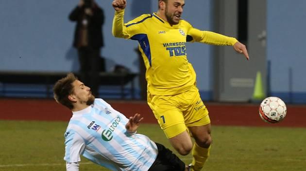 Ústečtí fotbalisté naposledy remizovali s Varnsdorfem 0:0.
