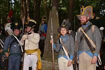 Historické uniformy v Tisé a v Nakléřově