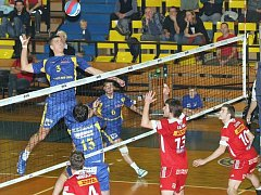 SKV Ústí n. L. – VK DHL Ostrava 0:3